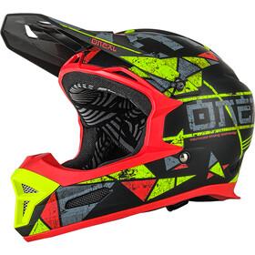 ONeal Fury RL Helmet Zen-neon yellow